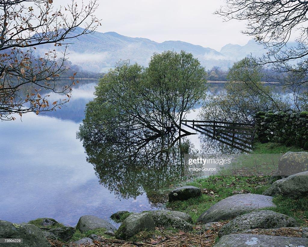 Cumbrian lake : Stock Photo