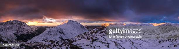 Cumbrian Mountains in Winter