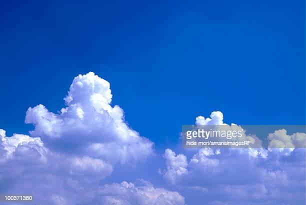 Cumulonimbus clouds in sky