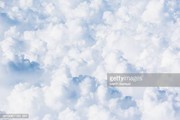 Cumulus clouds, close-up, full frame