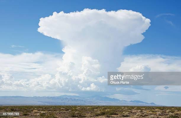 Cumulus Nimbus Cloud, Mojave Desert