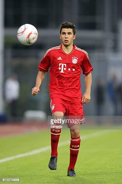 Cuneyt Köz FC Bayern Munchen Paulaner Cup des Sudens im neuen Trikot der Bundesligasasion 2011 / 2012