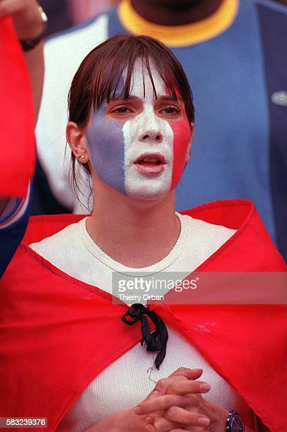 SOCCER cup disappointment team women french world fan