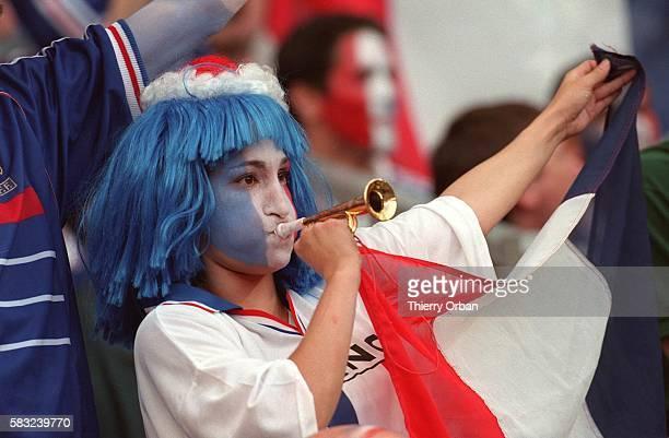 SOCCER cup flag team women french joy world fan