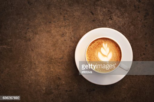 Cup of cappuccino : Stock Photo