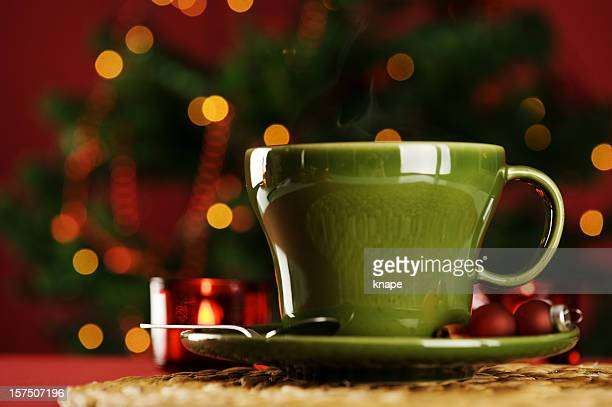 Cup of christmas drink