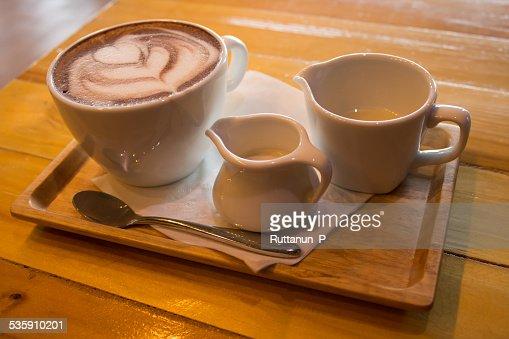 Taza de cacao : Foto de stock