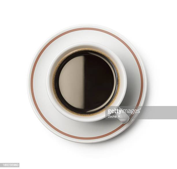 Cup of coffee (CLIPPING PATH included)