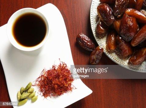 Arabic Coffee Cardamom Saffron