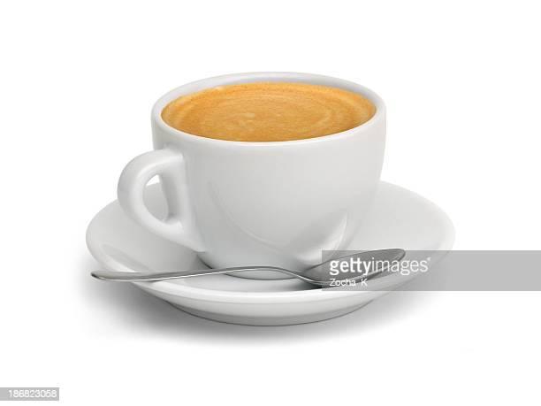 Tasse de café (Tracé de détourage inclus