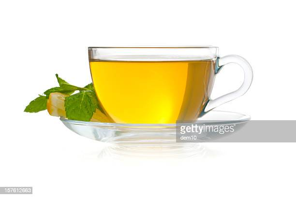 Cup of green tea