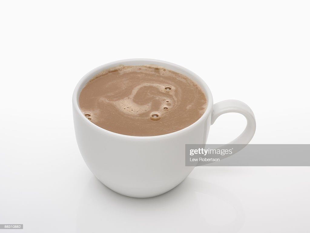 Cup Of Hot Chocolate Stock Photo | Getty Images