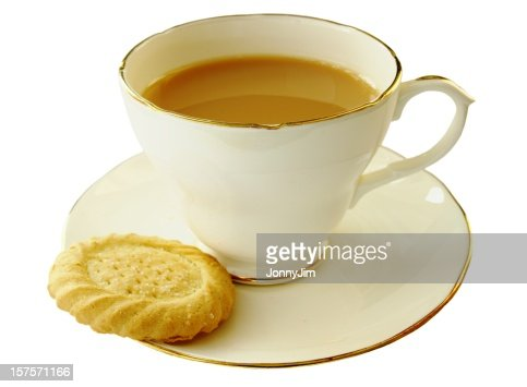 Cup of tea and a shortbread biscuit