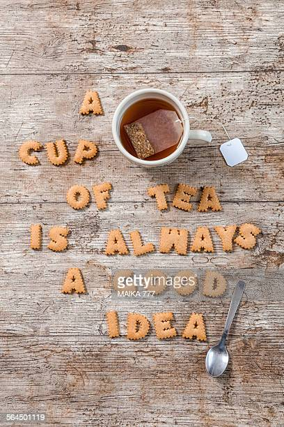 A cup of tea is always a good idea