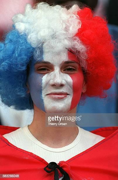SOCCER cup team women french joy world fan