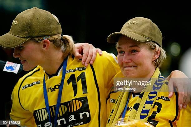 Cup Winners Cup final Tonje Kjaergaard Ikast/Bording last game L Gro Hammerseng