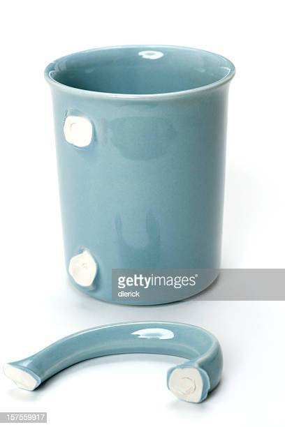 cup with broken handle