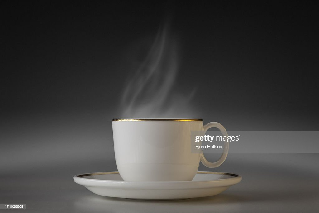 Cup with steam