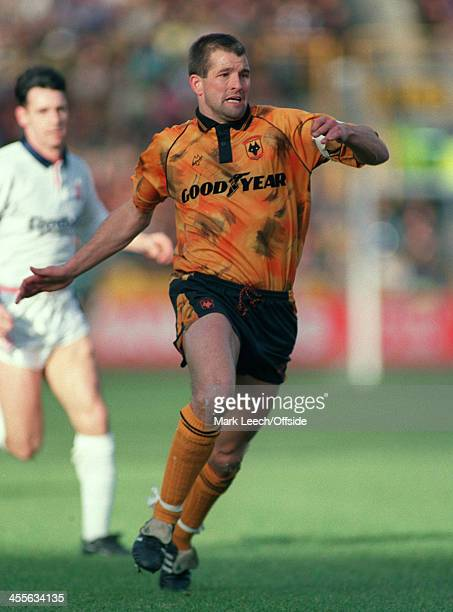 Cup Wolverhampton Wanderers v Bolton Wanderers Steve Bull
