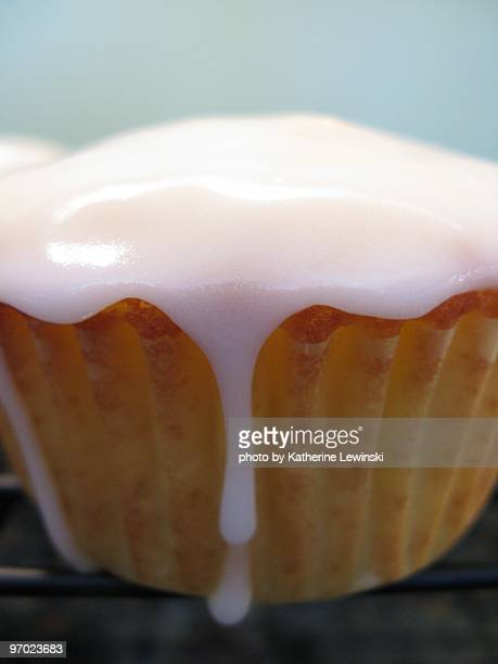 Cupcake with Dripping Icing