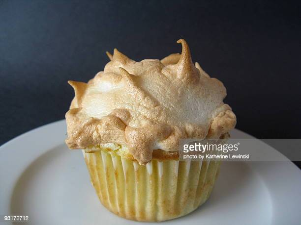 Cupcake with Meringue Topping