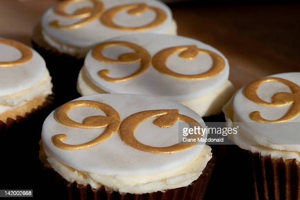 Cupcakes for a 90th birthday