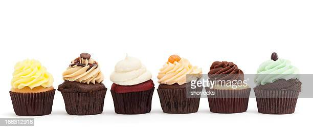Cupcakes in a Row (Variety)