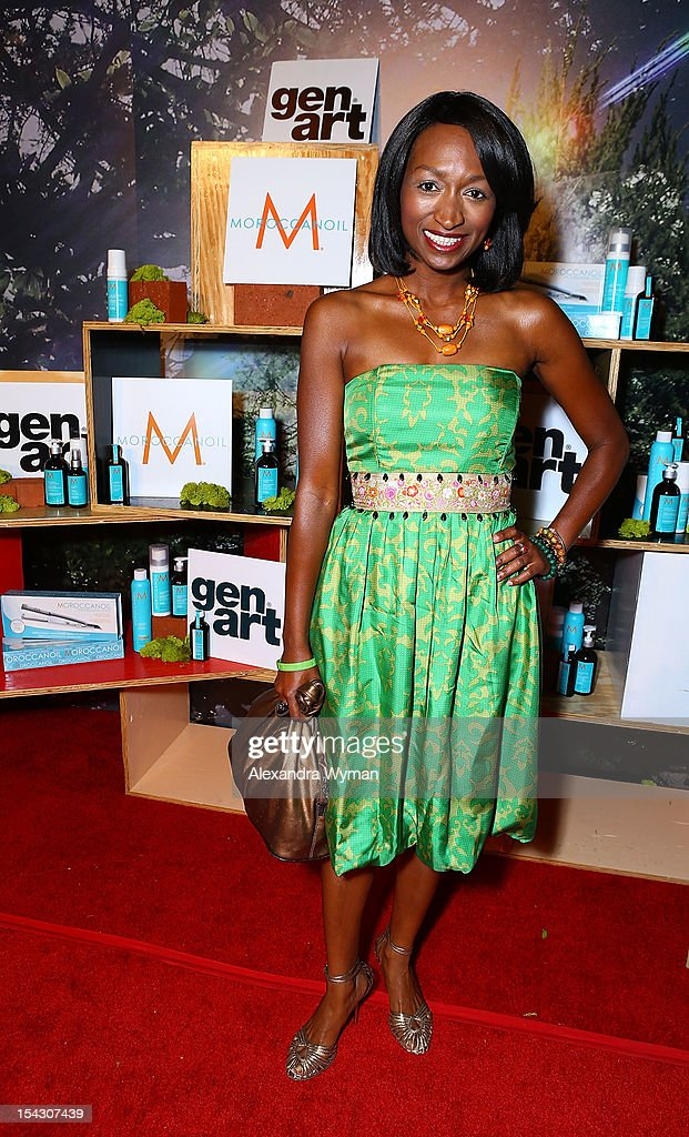 Cupid Hayes at The Gen Art 14th Annual Fresh Faces In Fashion Presented By Moroccan oil held at Vibiana on October 17, 2012 in Los Angeles, California.