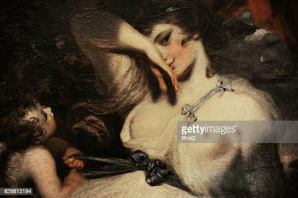 Cupid Untying the Zone of Venus by Sir Joshua Reynolds