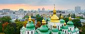 St. Sophia Cathedral (Eastern Orthodox Cathedral) - UNESCO World Heritage Site. Kiev, Ukraine.