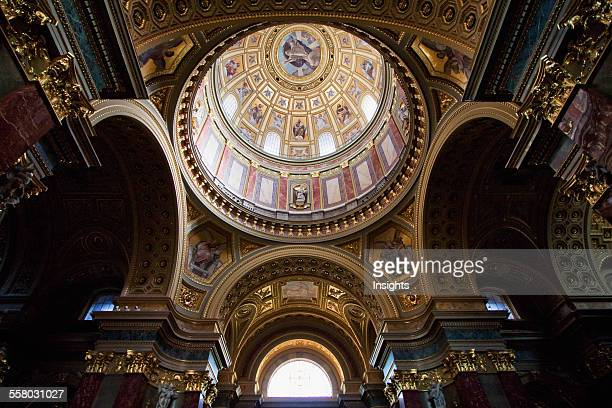 Cupola Of St Stephen's Basilica Budapest Hungary