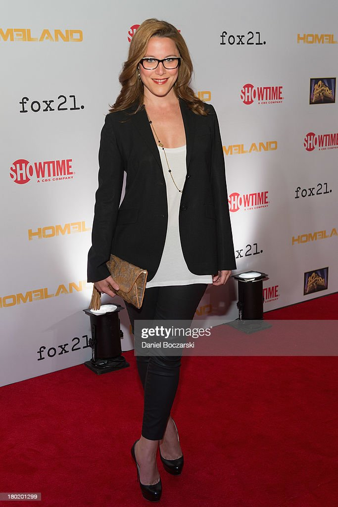 S.E. Cupp attends a premiere screening hosted by SHOWTIME and Fox 21 for Season 3 of the hit series 'Homeland' at Corcoran Gallery of Art on September 9, 2013 in Washington City.