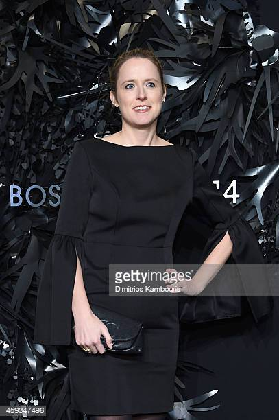 Curator Anne Huntington attends the Hugo Boss Prize 2014 at Guggenheim Museum on November 20 2014 in New York City