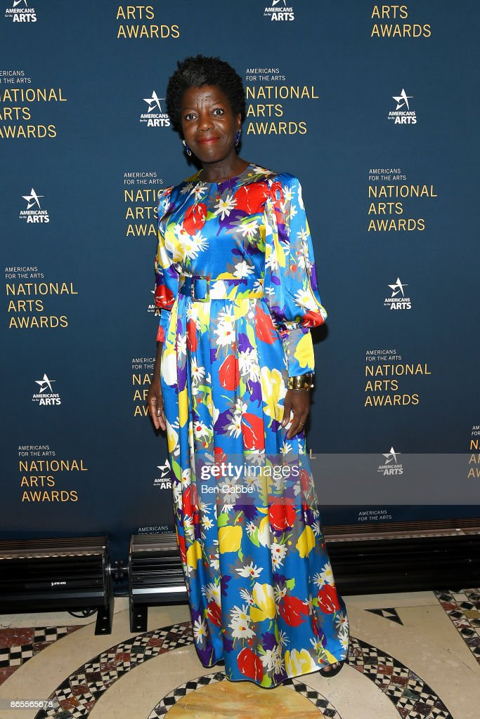 Curator Thelma Golden attends the National Arts Awards at Cipriani 42nd Street on October 23, 2017 in New York City.