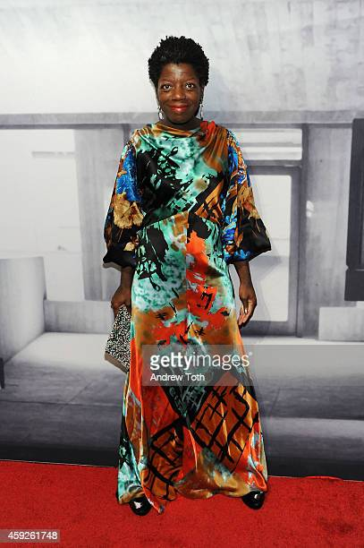 Curator Thelma Golden attends The Whitney Museum Of American Art's 2014 Gala Studio Party at The Whitney Museum of American Art on November 19 2014...