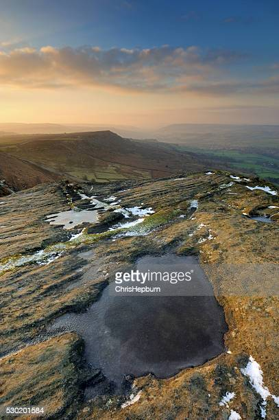 Curbar Edge Sunrise, Peak District National Park, England, UK