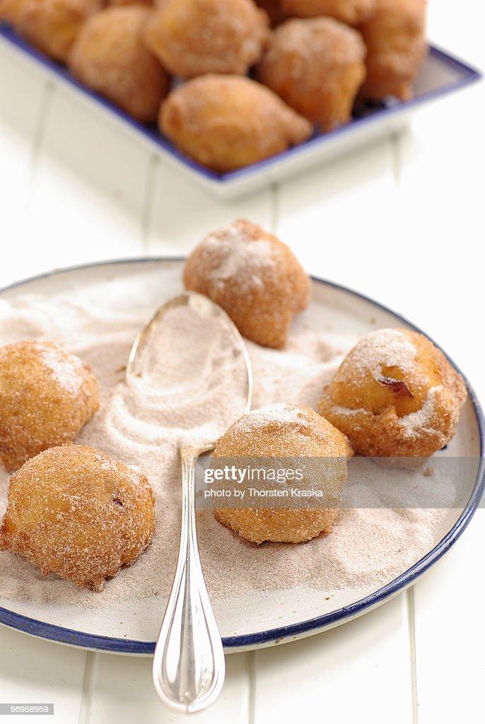 Curd Doughnuts : Stock Photo