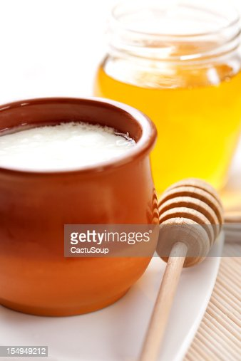 Curds And Honey Stock Photo | Getty Images