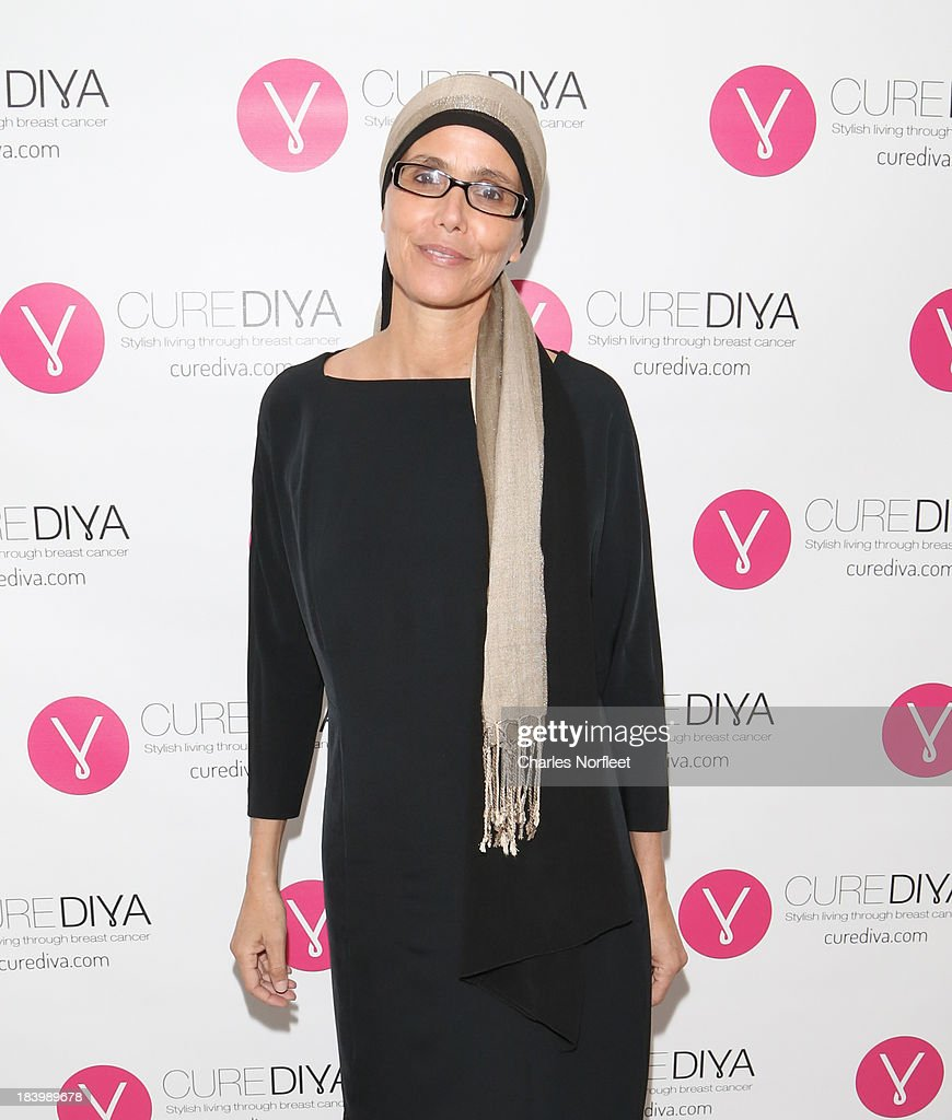 Curediva.com co-founder and breast cancer survivor Estelle Gofer attends Luncheon In Honor Of Breast Cancer Awareness Month at Bryant Park Hotel on October 10, 2013 in New York City.
