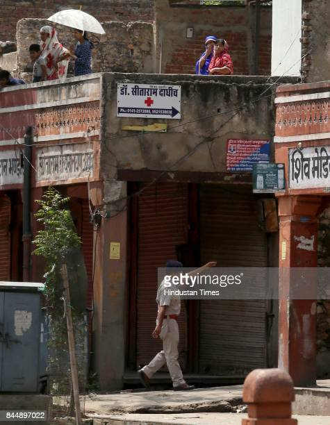 Curfew imposed in parts of Jaipur after latenight violence between locals and police triggered by an alleged assault on a woman by the cops left one...