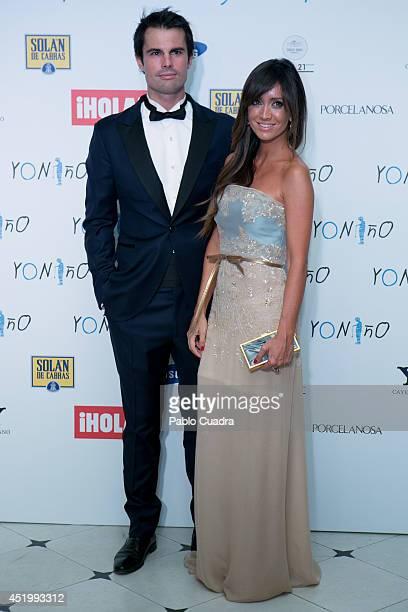 Curi Gallardo and Marta Gonzalez attend Yo Nino Foundation benefit dinner on July 10 2014 in Madrid Spain