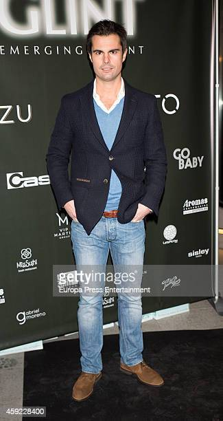 Curi Gallardo attends Glint Agency launch party on November 18 2014 in Madrid Spain