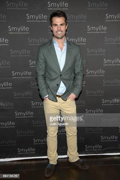 Curi Gallardo attends Smylife Event on May 28 2014 in Madrid Spain