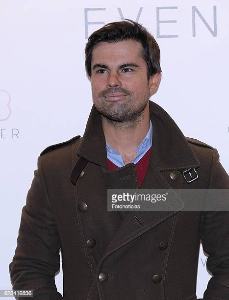 Curi Gallardo attends the 'Clover' events agency presentation at the Room Mate Oscar Hotel on November 15 2016 in Madrid Spain