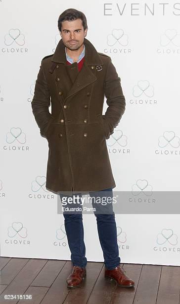 Curi Gallardo attends the 'Clover' photocall at Oscar hotel on November 15 2016 in Madrid Spain