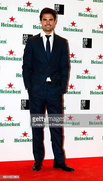 Curi Gallardo attends the Heineken party at ARCO 2015 the International Contemporary Art Fair at Ifema on February 25 2015 in Madrid Spain