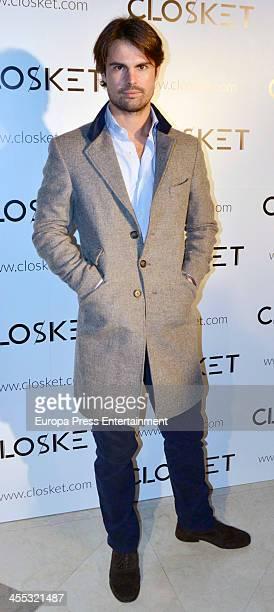 Curi Gallardo attends the presentation of the fashion web 'Closket' on December 11 2013 in Madrid Spain