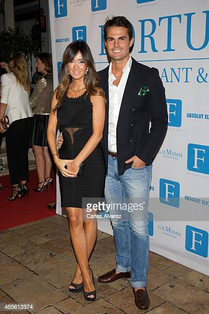 Curi Gallardo attends the 'Rentree in Fortuny' party at the Fortuny Club on September 17 2014 in Madrid Spain