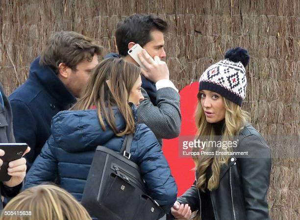 Curi Gallardo Marta Gonzalez Sonia Gonzalez and Juan Pena are seen on December 12 2015 in Madrid Spain