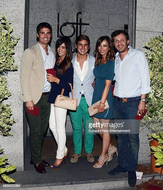 Curi Gallardo Sonia Gonzalez guest Sonia Gonzalez and Juan Pena attend the Fiona Ferrer's 40th Birthday at Loft 39 restaurant on September 21 2014 in...